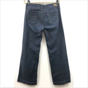 Levi's Women's 545 Jeans Wide Leg Size 12/32L Blue